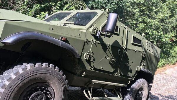 Obranný vůz Zetor Gerlach 4x4 - Sputnik Česká republika