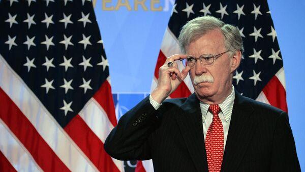 Poradce pro národní bezpečnost USA John Bolton  - Sputnik Česká republika