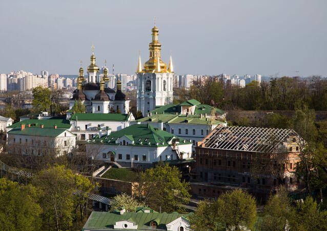 Kyjevskopečerská lávra v Kyjevě