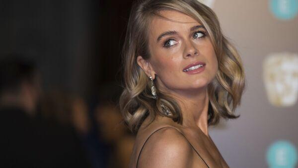 Britská herečka Cressida Bonas - Sputnik Česká republika