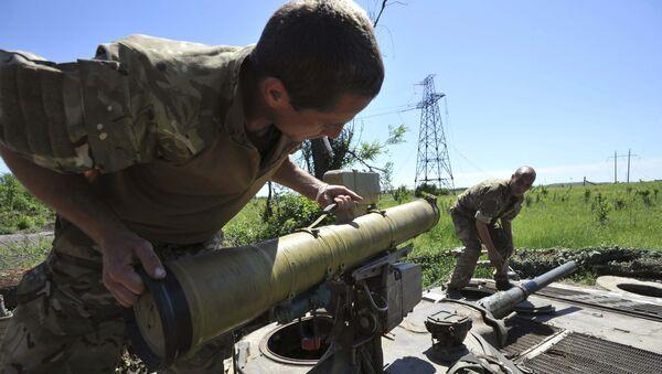 Ukrajinská armáda. Ilustrační foto - Sputnik Česká republika