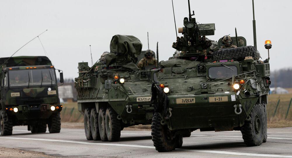 Obrněná vozidla Stryker