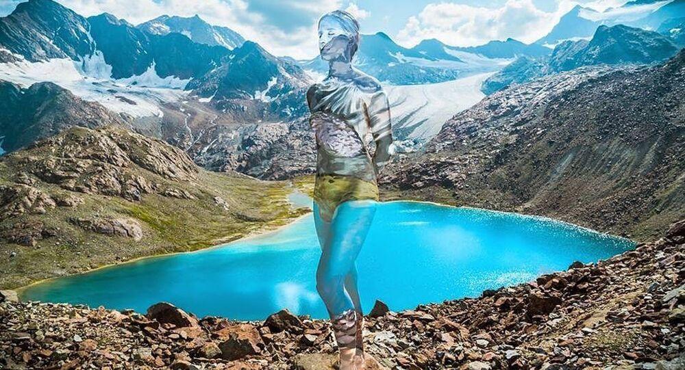 Body art švédské umělkyně Vilija Vitkute