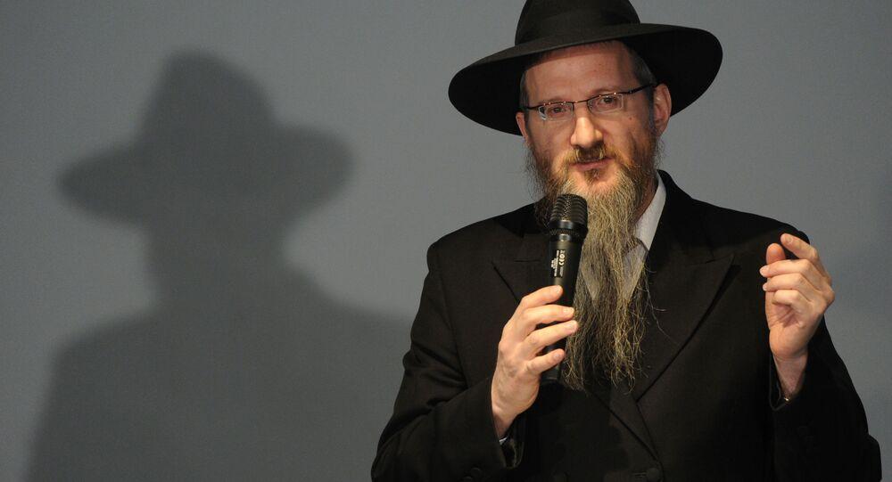 Hlavní ruský rabín Berl Lazar