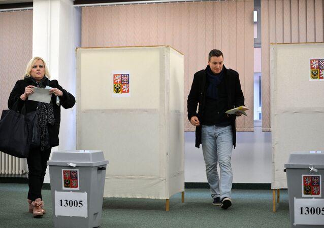 Prezidentské volby v Česku. Ilustrační foto