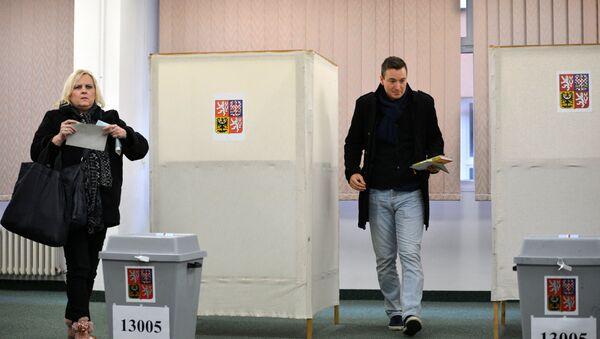 Prezidentské volby v Česku. Ilustrační foto - Sputnik Česká republika