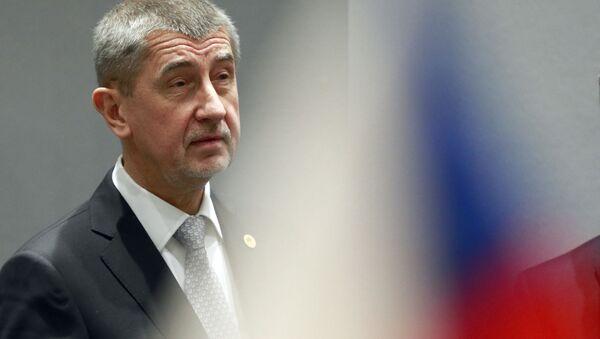 Český premiér Andrej Babiš v Bruselu - Sputnik Česká republika