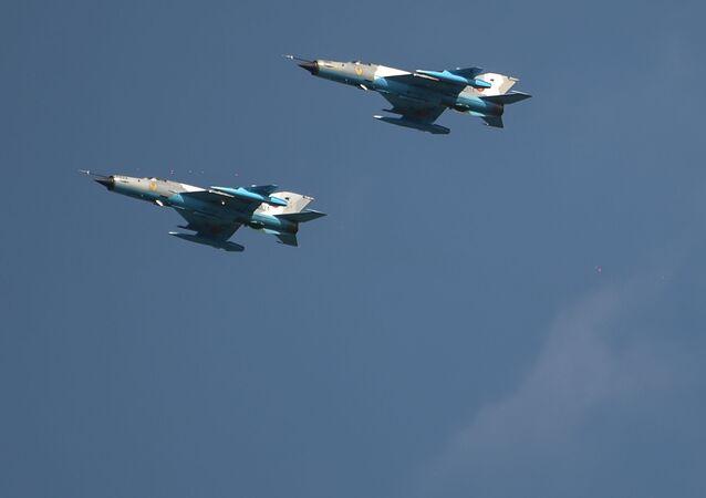 Lehké stíhací letouny MiG-21 Lancer