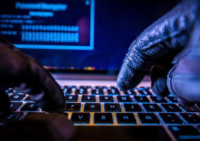 Hacker u počítače