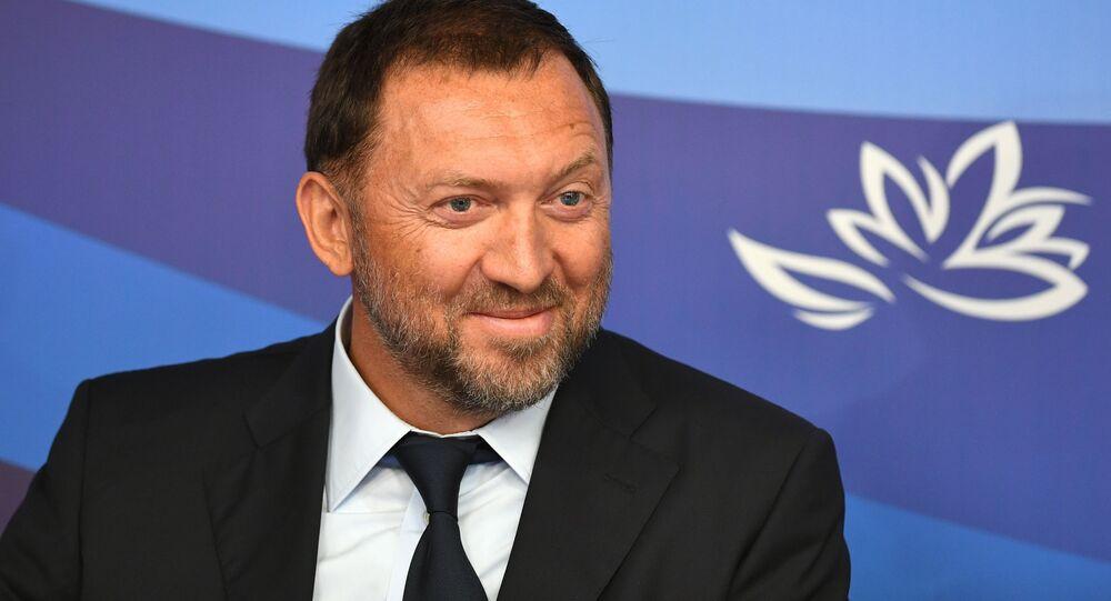 Byznysmen Oleg Deripaska