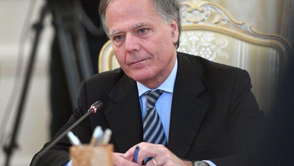 Italský ministr zahraničí Enzo Moavero Milanesi - Sputnik Česká republika