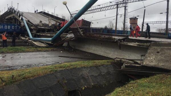 Na Transsibiřskou magistrálu se zřítil most (FOTO, VIDEO) - Sputnik Česká republika