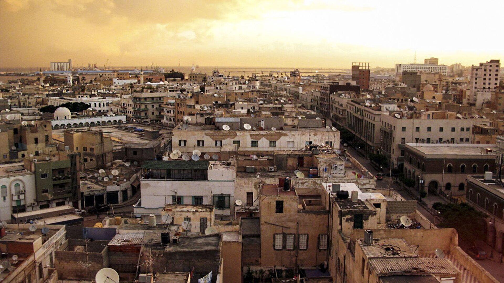 Pohled na Tripolis v Libyi - Sputnik Česká republika, 1920, 08.05.2021