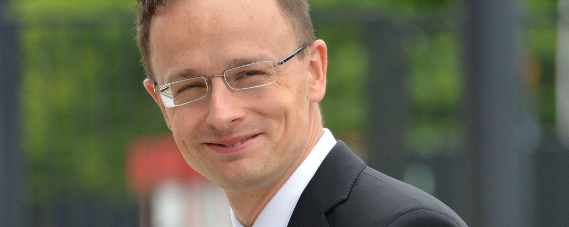 Maďarský ministr zahraničí Péter Szijjártó - Sputnik Česká republika, 1920, 06.06.2021
