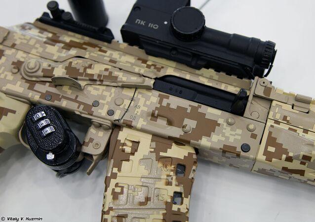 Nový automat AK-12