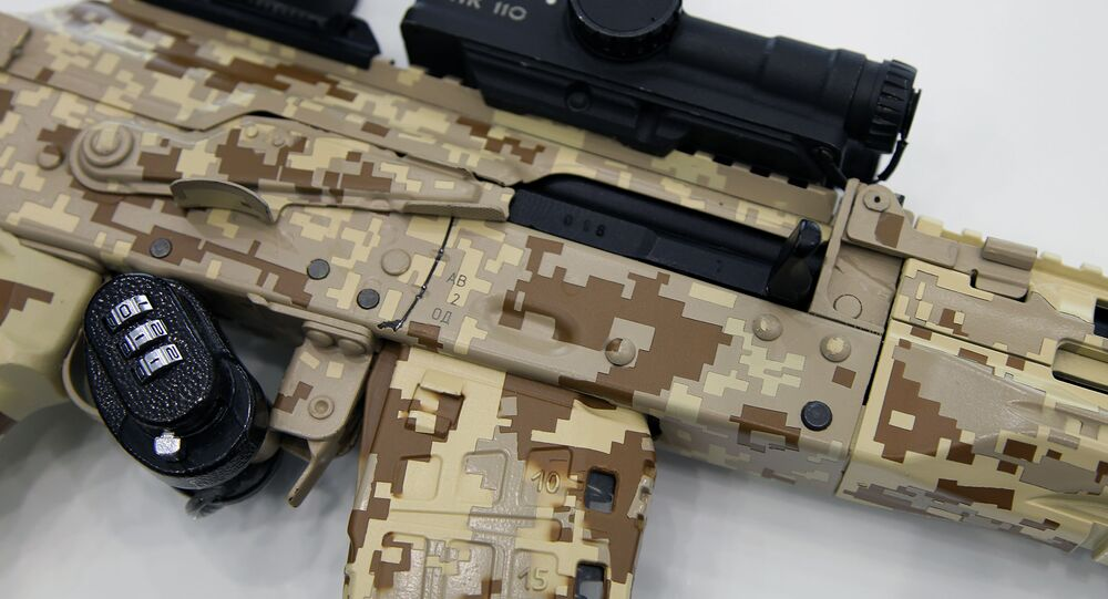 Nový samopal AK-12
