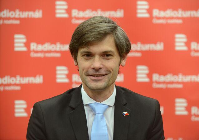 Český senátor Marek Hilšer