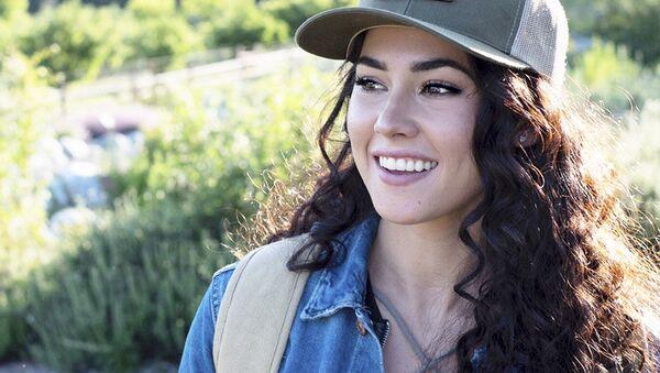 Americká modelka Kelsey Quayleová - Sputnik Česká republika