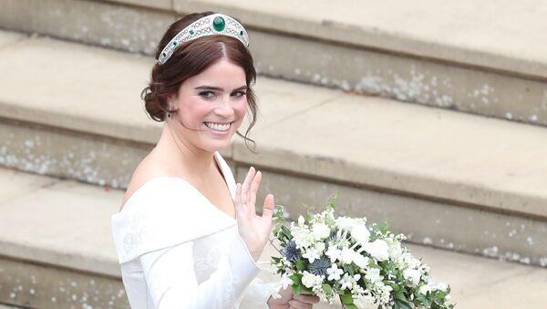 Princezna Eugenie před svatbou - Sputnik Česká republika
