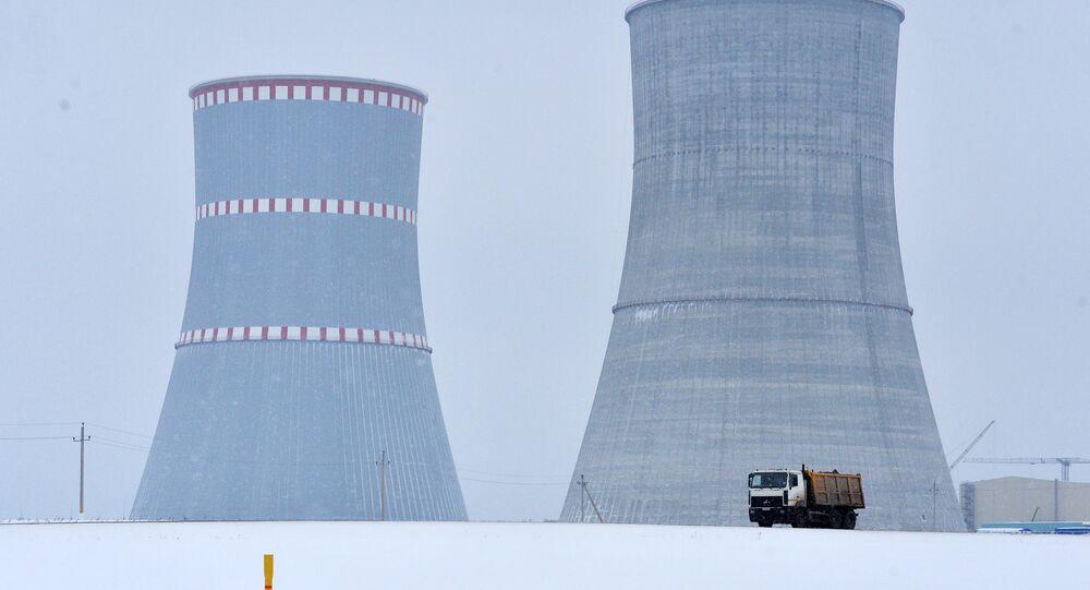 Běloruská jaderná elektrárna