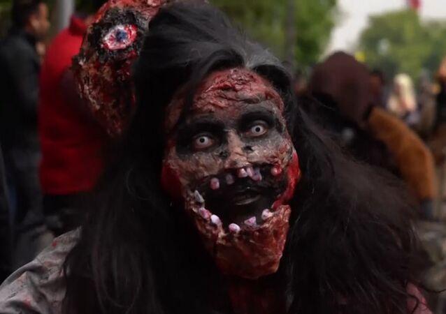 Zombie pochod v Chile