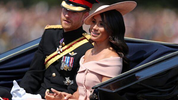 Meghan Markl a Princ Harry  - Sputnik Česká republika