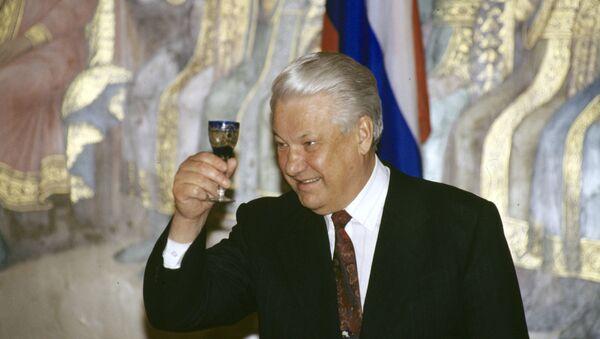 Bývalý ruský prezident Boris Jelcin - Sputnik Česká republika