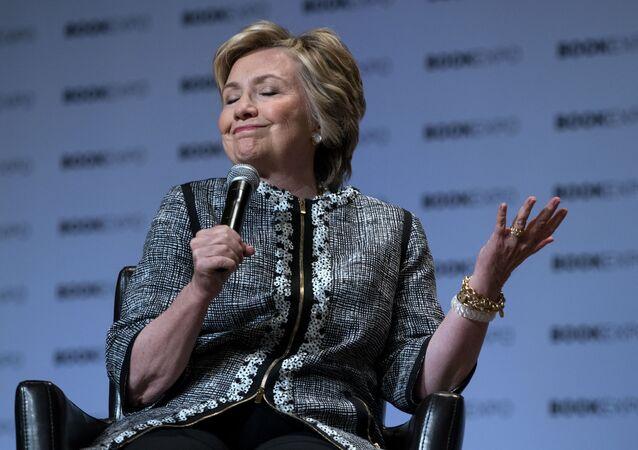 Bývalá ministryně zahraničí USA Hillary Clintonová