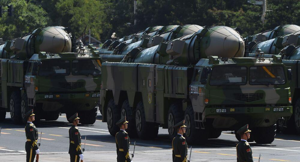 Čínská balistická protilodní střela DF-21D