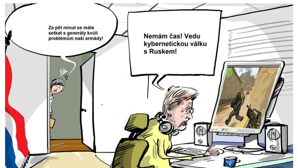 Mám důležitější věci na práci! - Sputnik Česká republika