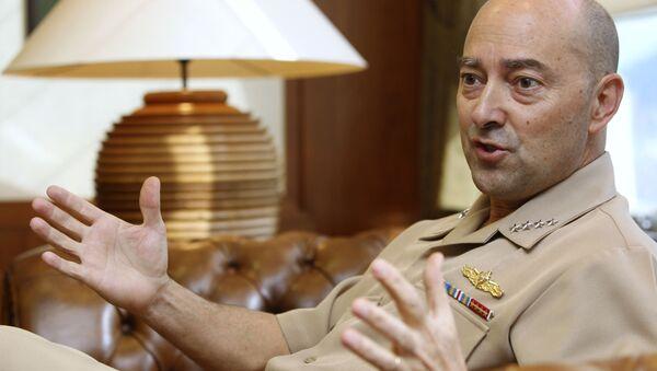 Bývalý vrchní velitel spojených sil NATO v Evropě James Stavridis - Sputnik Česká republika