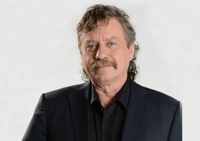 Český sociolog a europoslanec Jan Keller