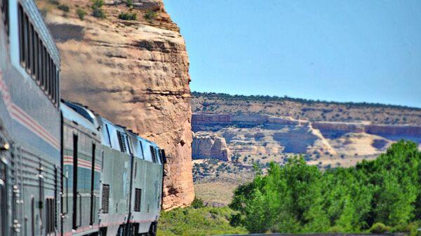 Железная дорога The California Zephyr, соединяющая американские города Чикаго и Сан-Франциско - Sputnik Česká republika