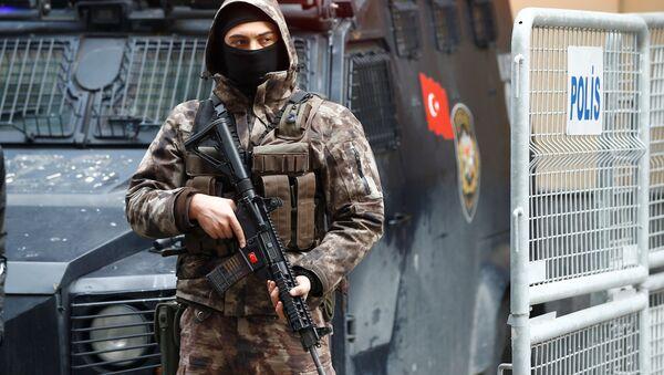 Turecká policie v Istanbulu. Ilustrační foto - Sputnik Česká republika