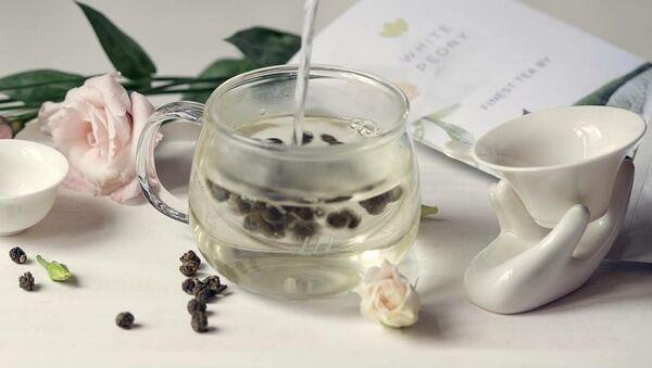 Luxusní zelený čaj White Peony - Sputnik Česká republika