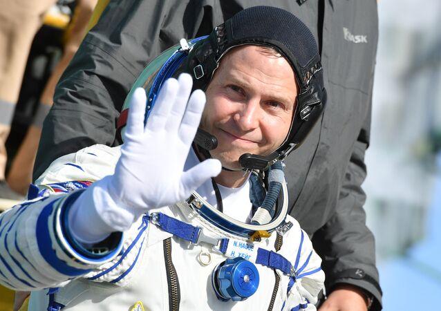 Americký astronaut Nick Hague