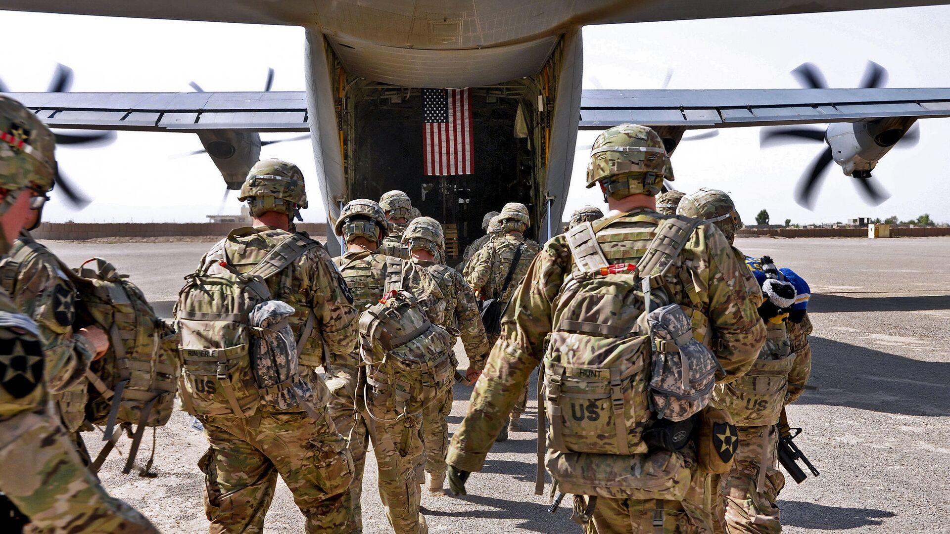 Američtí vojáci v Afghánistánu - Sputnik Česká republika, 1920, 17.05.2021