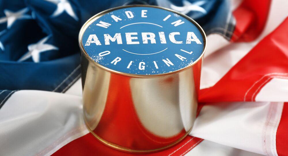 Konzervy Vyrobeno v Americe