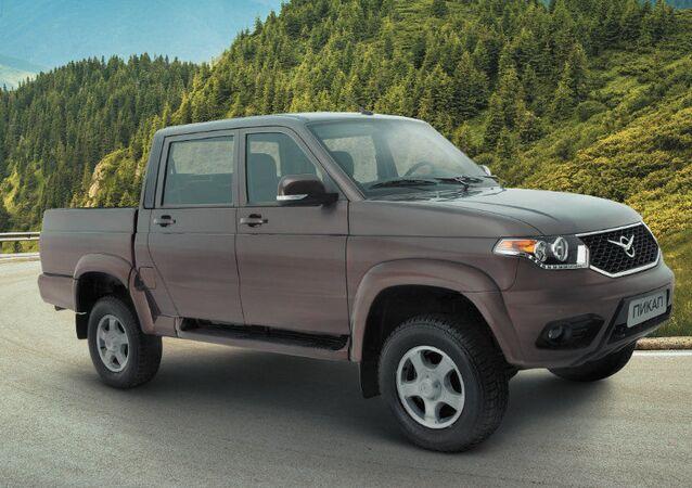 Obnovený UAZ Pick-up