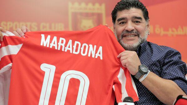 Bývalý argentinský fotbalista Diego Maradona - Sputnik Česká republika