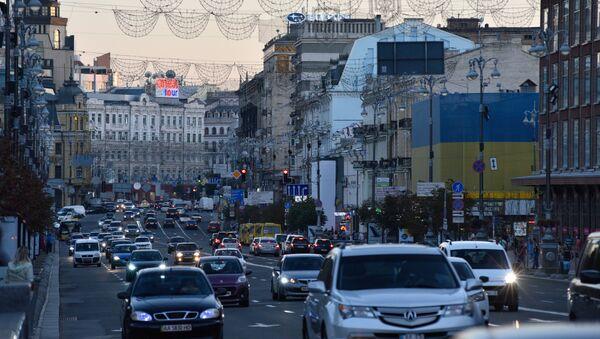 Ulice Kyjeva. Ilustrační foto - Sputnik Česká republika