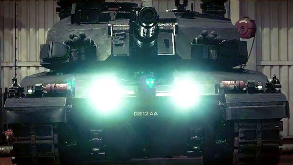Britský prototyp nového tanku Black Night - Sputnik Česká republika