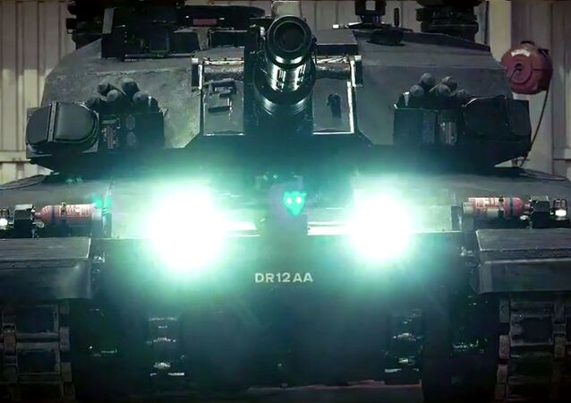 Britský prototyp nového tanku Black Night