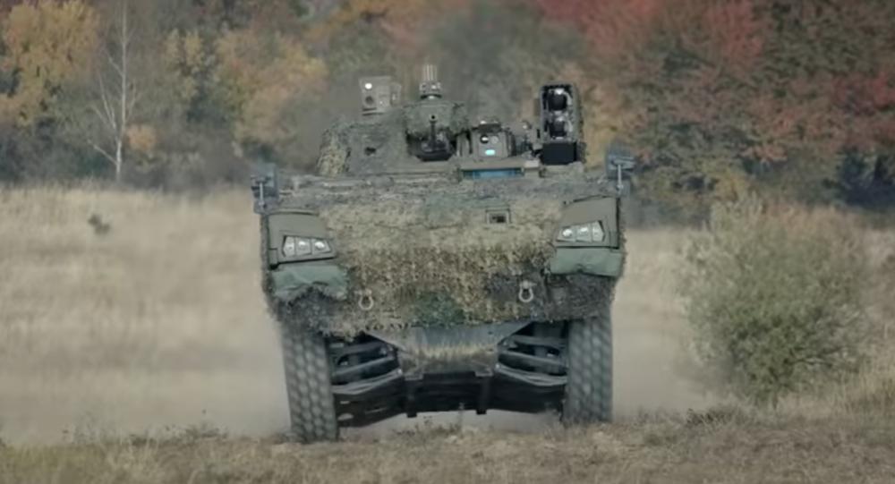 Slovenské obrněné vozidlo 8x8 Vydra