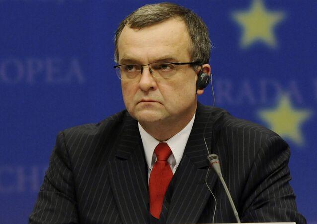 Český politik a bývalý ministr financí ČR Miroslav Kalousek
