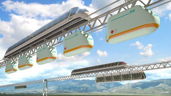 SkyWay. Ilustrační foto - Sputnik Česká republika