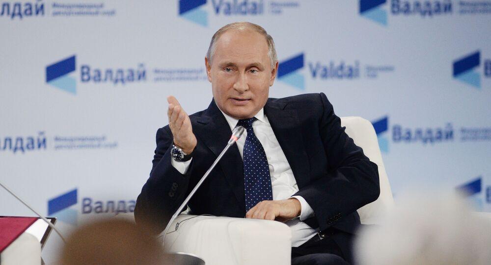 Ruský prezident Vladimir Putin. Ilustrační foto