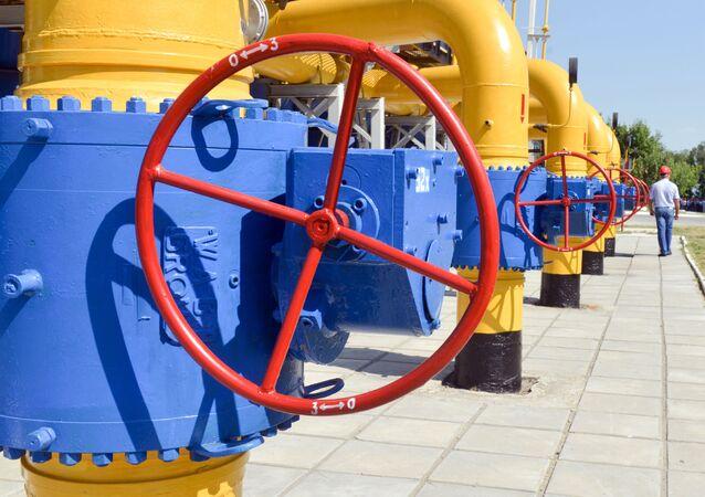 Kompresorová stanice společnosti Naftogaz Ukrajiny v Charkově