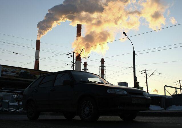 Tepelná elektrárna. Ilustrační foto
