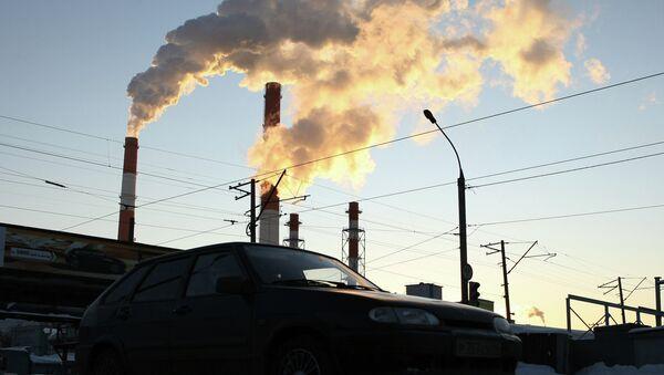 Tepelná elektrárna. Ilustrační foto - Sputnik Česká republika